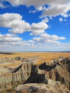 Badlands of South Dakota #beauty #gorgeous #scenery