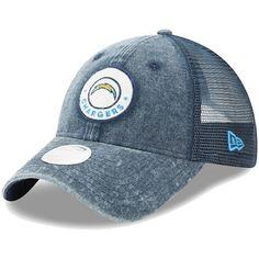 Women s Los Angeles Chargers New Era Navy Perfect Patch 9TWENTY Adjustable  Snapback Hat ee6d5c823