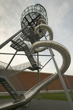 Vitra Slide Tower - Weil am Rhein, Germany by Carsten Höller