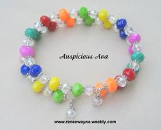 Memory wire wrap bracelet  www.reneewayne.weebly.com