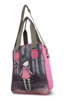 10% OFF Your First Order, FREE UK Delivery. www.schoolbagstation.com Gorjuss Holdall - Fairy Lights