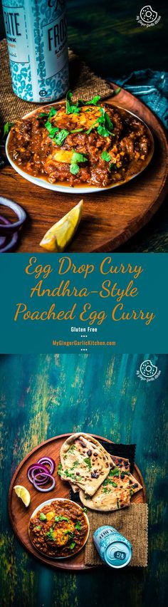 Egg Drop Curry | Andhra-Style Poached Egg Curry | mygingergarlickitchen.com/ @anupama_dreams