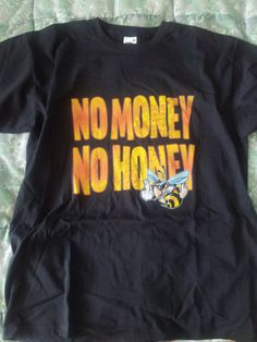 Funny T SHIRT men printed no money no honey T by handmade4everyone, $16.99