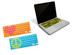 Keyboard Cover for your Macbook -- These are so cute