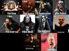 Metal frontmen and their metal identities