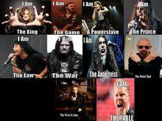 Metal frontmen and their metal identities