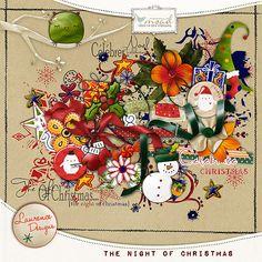 The Night of Christmas [LDthenightofchristmas] - €2.80 : My Scrap Art Digital, Passion for Digital Scrapbooking