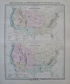 Gray's-Botanical-and-Zoological-Maps-of-the-United-States