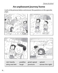 Related image Picture Story Writing, Writing Pictures, School Pictures, Composition Writing, Picture Composition, Paragraph Writing, Persuasive Writing, Writing Worksheets, Prepositions Worksheets