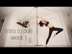 Learn How To Pole Dance From Home With Amber's Pole Dancing Course. Why Pay More For Pricy Pole Dance Schools? Pole Fitness Moves, Pole Dance Moves, Pole Fitness Clothes, Barre Fitness, Fitness Classes, Fitness Exercises, Fitness Tips, Swing Dancing, Pole Dancing