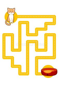 Educational printable games for the development of fine motor skills in kids. Baby`s finger allow along the tracks. Vector illustration vector illustration Mazes For Kids, Crafts For Kids, Motor Activities, Toddler Activities, Vocabulary Cards, Hand Writing, Preschool Worksheets, Fine Motor Skills, Kids Rugs