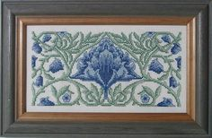 Counted Cross Stitch Kit: Selbourne by William morris