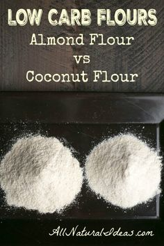 We get a lot of questions about using almond flour and for Atkins cuisine all purpose baking mix