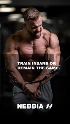 """""""Train insane or remain the same."""" @nebbia_fitness instagram  #fitnessmotivation #motivation #motivationquotes Train Insane Or Remain The Same, Mental Health Resources, Fitness Motivation Quotes, Achieve Your Goals, Fun Workouts, Motivational Quotes, Marketing, Best Deals, Instagram"""