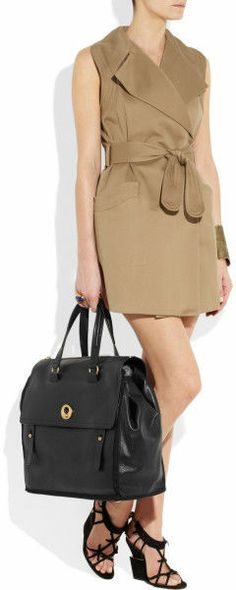 b0af4928277a5 YSL Muse Two Oversized Leather Tote