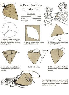 Felted Pincushion | Pin cushions, Design and Eggs