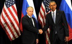 Владимир Путин и Президент Соединённых Штатов Америки Барак Обама провели двустороннюю встречу на полях сессии Генеральной Ассамблеи ООН.