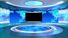Professional Anchor Report Use Virtual News Set Green Screen Video Backgrounds, New Backgrounds, Virtual Studio, Anime City, Hotel Room Design, Minimal Logo Design, Chroma Key, Stage Set, Animation Background