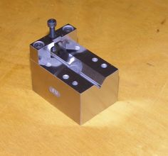 V-Block and Clamp made from A2 tool steel