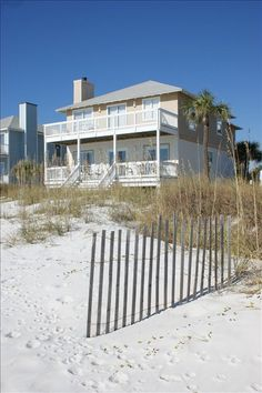 "Inlet Beach Vacation Rental - VRBO 332314 - 5 BR Beaches of South Walton House in FL, Directly on Beach ""Inlet Sunrise"" Front Porch to Beach..."