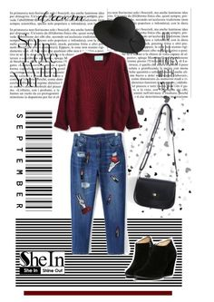 """""""Shein*7"""" by mirelagrapkic ❤ liked on Polyvore featuring shein"""