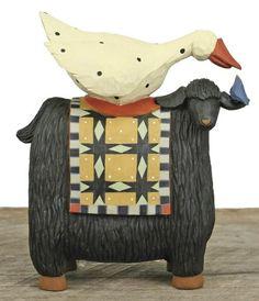 Goose on sheep-Williraye