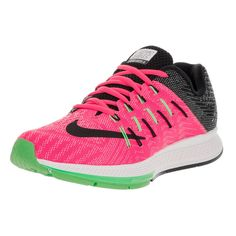 sale retailer 1f3dc fe354 Nike Women s Air Zoom Elite 8 Pink Blast, Black, White, and Electric Green