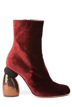 Style Crush: High-Impact Ankle Boots by Dries van Noten | Runway ...