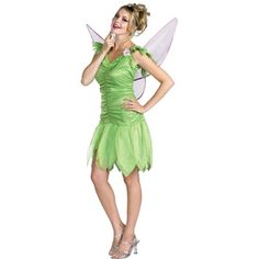 tinker bell classic adult halloween costume - I Love Lucy Halloween Costumes