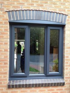 UPVC Windows Exterior Windows, Sliding Windows, Casement Windows, Windows And Doors, Window Grids, Doors And Floors, Green Windows, Collor, Windows