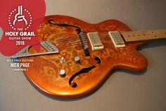 Exhibitor at The Holy Grail Guitar Show 2016: Nick Page, Nick Page Guitars, Austria http://nickpageguitars.com/ https://www.facebook.com/nickpage.guitars