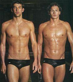 Phelps & Lochte - I really need to become a better swimmer...