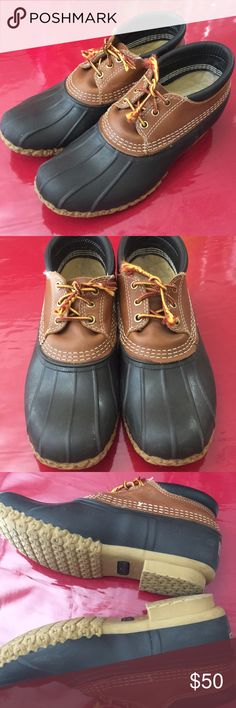 LL BEAN  booties size 9 good condition reposh Reposh because its too big for me my size 8:5 or 9 but this is size 9 but still big for me good condition LL Bean Shoes Ankle Boots & Booties