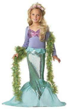 Amazon.com: California Costumes Toys Little Mermaid Costume: Clothing