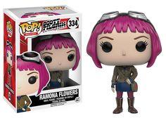 Amazon.com: Funko POP Movies: Scott Pilgrim Ramona Flowers Action Figure: Toys…