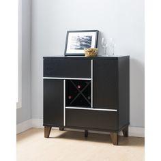 Lovely Black Bar Cabinet Furniture