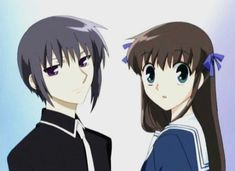 Fruits Basket Yuki and Tohru. I know Tohru ends up with Kyo but I love Tohru and Yuki together.