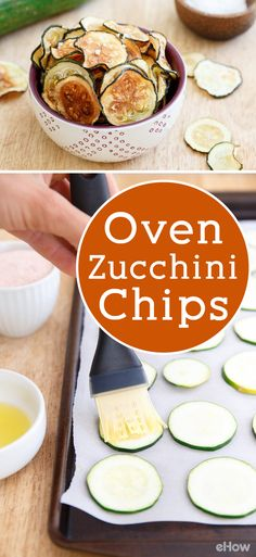 Looking for a healthy, low-carb chip alternative? You can crisp up sliced zucchini to make tasty chips! http://www.ehow.com/how_12343493_make-zucchini-chips-oven.html?utm_source=pinterest.com&utm_medium=referral&utm_content=freestyle&utm_campaign=fanpage