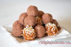 RawFood Truffles - Delights Of Culinaria