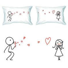 From My Heart to Yours Couple Pillowcase Set