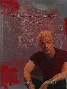 Spike <3 I don't see why people don't like his character! He's done more for her than Angel or Riley ever did!