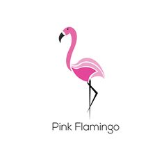 Pink flamingo is a minimalist logo made in Adobe Illustrator inspired from several flamingo designs found online.  You can buy this logo here: http://www.brandcrowd.com/logo-design/details/152910