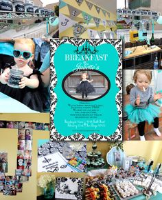 Breakfast at Tiffany's Birthday Party, Breakfast at Tiffanys crafts and decorations- SohoSonnet Creative Living