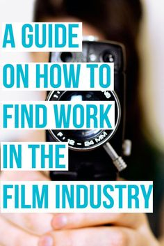 A FREE guide on how to find work in the Film Industry. Very detailed with Case Studies on how real  filmmakers have found work.  Filmmaker   Filmmaking tips