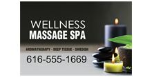 Calming Spa Therapy Banner