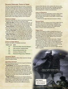 The Oath of Grief Dungeons And Dragons Classes, Dungeons And Dragons Homebrew, Dnd Characters, Fantasy Characters, Dnd Paladin, Dnd Dragons, Dnd Classes, Dnd Races, Dungeon Master's Guide