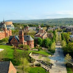 Looking forward to Cornell in the spring, the campus is so beautiful! May Photo by Boone Pavia. College Board, College Campus, College Life, Dream School, Cornell University, Higher Education, Landscape Architecture, Ivy League, Family Memories