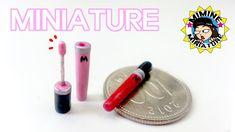 미니어쳐 립글로즈 만들기 Miniature - Lip Gloss / 미미네 미니어쳐