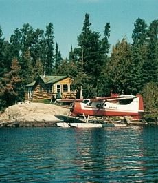 ALL OF IT!! Cabin on a lake and a float plane!
