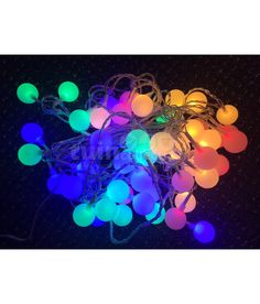 Awesome Partylights transparante LED lampen multicolor pastel m uac